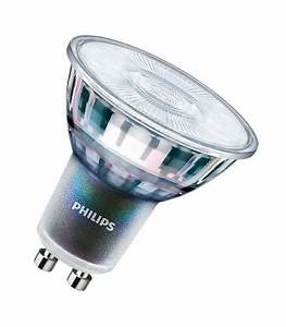 Philips Led Gu10 Dimmbar : philips master led expertcolor 5 5 50w 927 220v gu10 36d dimmbar led lampen ~ Orissabook.com Haus und Dekorationen