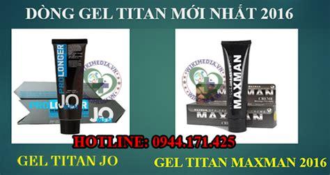 tham khảo hướng dẫn sử dụng gel titan đúng chuẩn