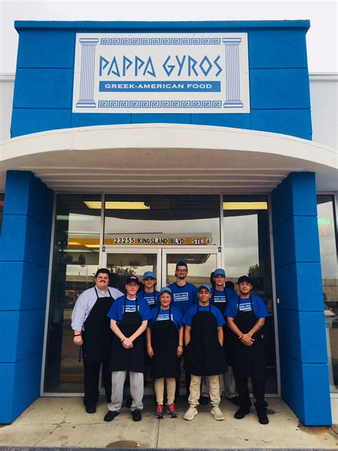 Christos Batsios' Pappa Gyros Serving Greek American Food ...