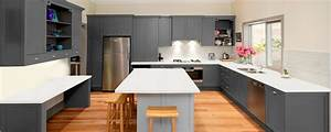 Absolute White u0026middot; Black Mirror - Kitchen and