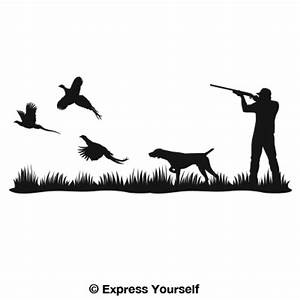 Pheasant Heaven Pointer Mural Decal