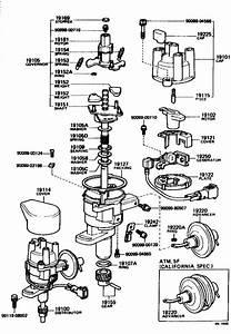 Toyota Corona Distributor Ignition Pickup  Generator  Signal  Pick Up Coil