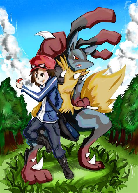 Pokemon x and y  Let's go  Mega lucario ! by Ndavid