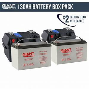 Batterie Agm Camping Car : deep cycle battery and box 130ah 12v deep cycle agm powered battery box combo kickass battery pack ~ Medecine-chirurgie-esthetiques.com Avis de Voitures