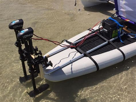 Electric Trolling Motor For Kayak by Add Electric Trolling Motor To Stand Up Sup Paddle Board