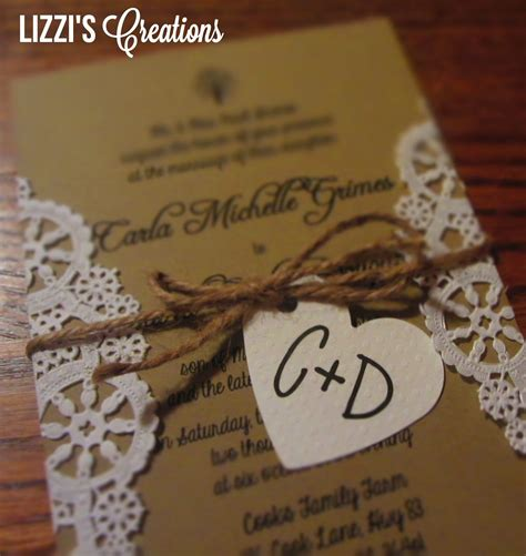 cheap diy rustic wedding invitations google search