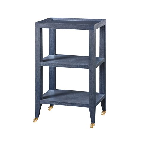 navy blue side table isadora side table navy blue bungalow 5