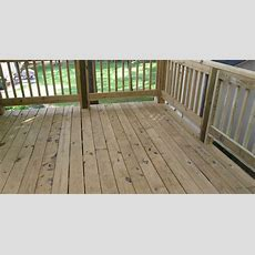 New Deck And Railings, Should I Paint, Stain, Or Just Seal