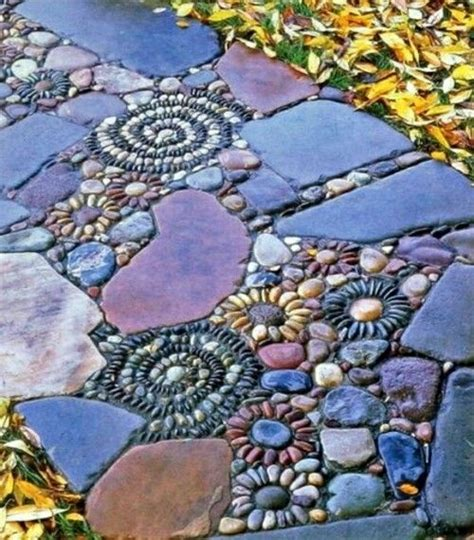 naturstein garten deko natursteine mosaik garten garten deko und
