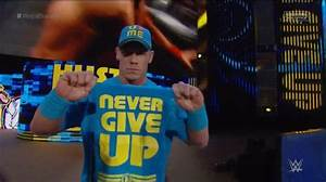 Image for john cena never give up WWE Royal Rumble 2015 ...