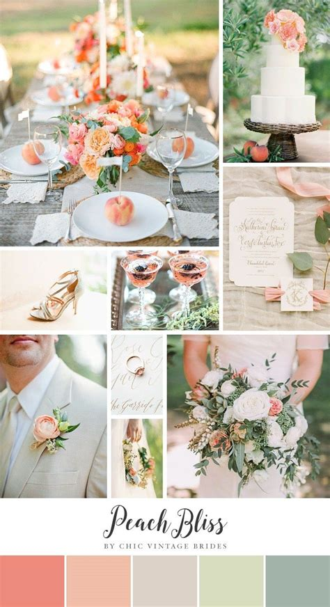 Top Summer Wedding Color Combinations Wedding Wedding