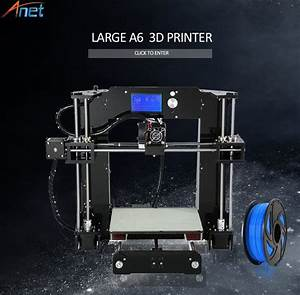 Best Price Newest   Anet A6 A8 E10 3d Printer Large