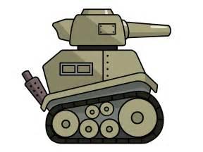 Cartoon Army Tank Clip Art