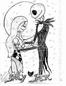 Nightmare Before Christmas Coloring Pages | Christmas ...