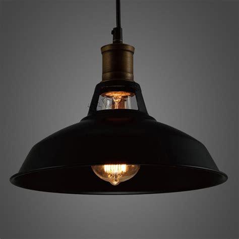 industrial kitchen lighting pendants industrial retro vintage black pendant l kitchen bar 4672