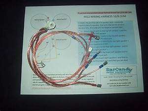 Earcandy 4x12 Guitar Cabinet Cab Wiring Harness 4 16 Ohm