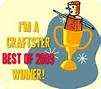 I'm a Craftster Best of 2009 Winner! – Ornamento