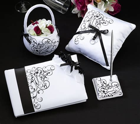 Wedding Set (Bianco e nero)