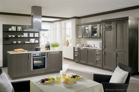 grey kitchen cabinets with pictures of kitchens modern gray kitchen cabinets