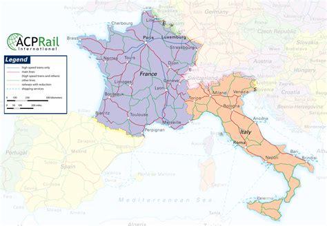 france italy map recana masana