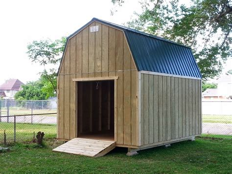 12x16 Gambrel Storage Shed Plans Free by 12x16 Barn Gambrel Shed 2 Shed Plans Stout Sheds Llc