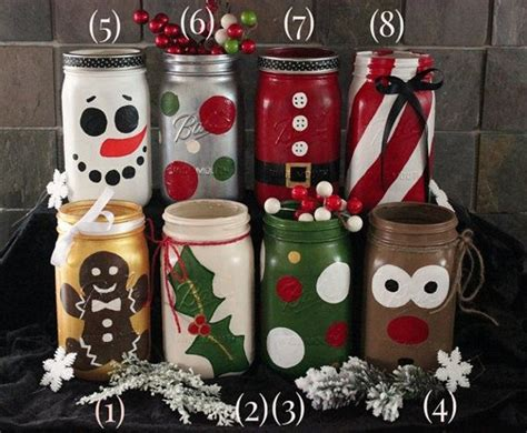 50 Amazing Mason Jar Christmas Crafts Living Rooms Colors Cottage Style Southwest Room Furniture Curtain Design For Wall Shelves Idea Set Black And Grey