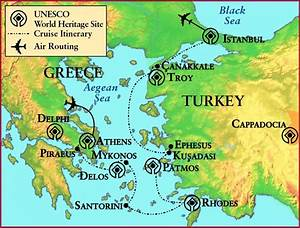 Ancient Greece Troy map - Map of ancient Greece and Troy ...