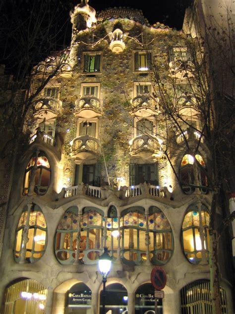 Gaudi Haus In Barcelona Foto & Bild Architektur