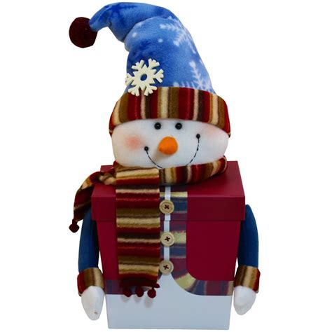 amazoncom snowman christmas snowman stacking tower gift