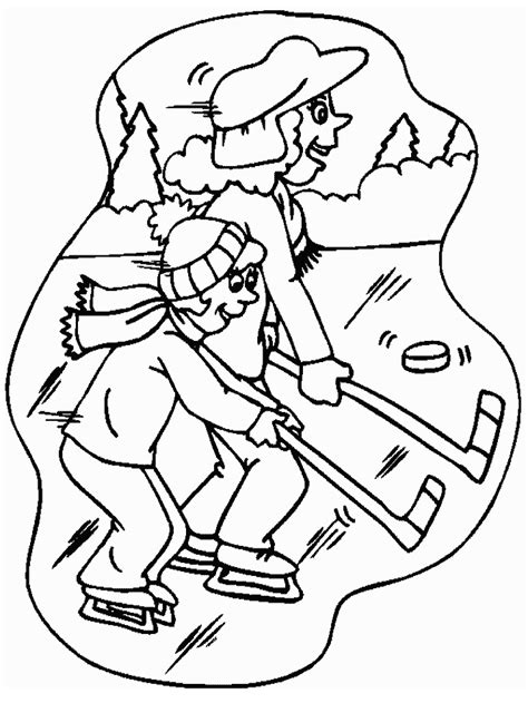 Kleurplaat As Hockey by Hockey Kleurplaten Animaatjes Nl