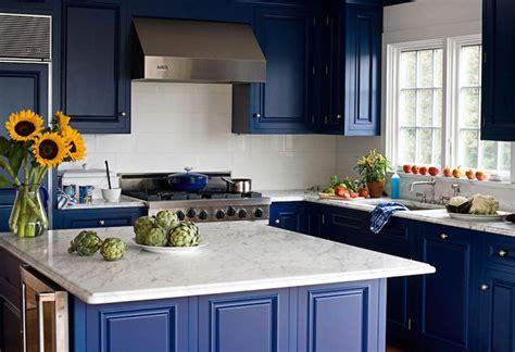 cuisine bleu marine quelle couleur pour une cuisine chic 40 idées de