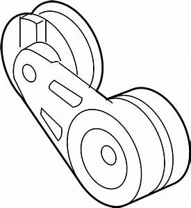 Saturn Relay Accessory Drive Belt Tensioner Assembly