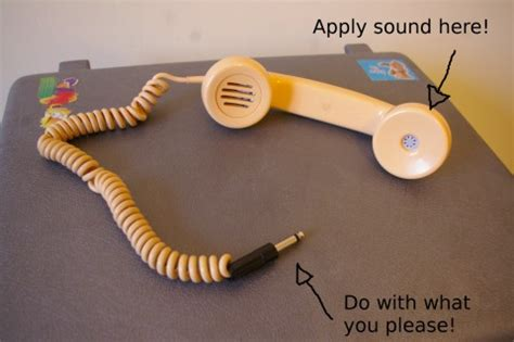 use phone as microphone devsound se 187 telephone handy microphone