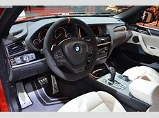 BMW M Performance tuning for the BMW X4 at 2014 Essen
