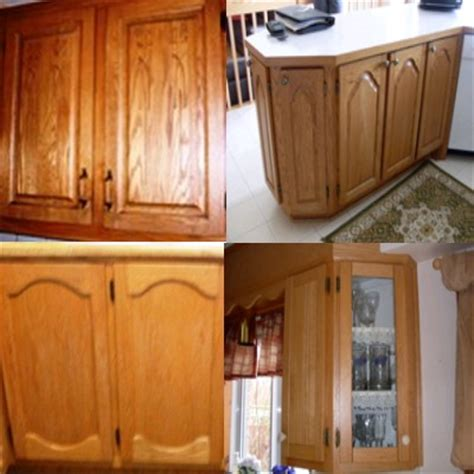 couleur de porte d armoire de cuisine armoires de cuisine en chêne nous les remettons a neuf