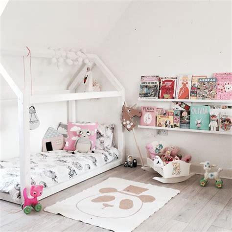 modele deco chambre fille diy lit cabane modèles originaux pour les enfants