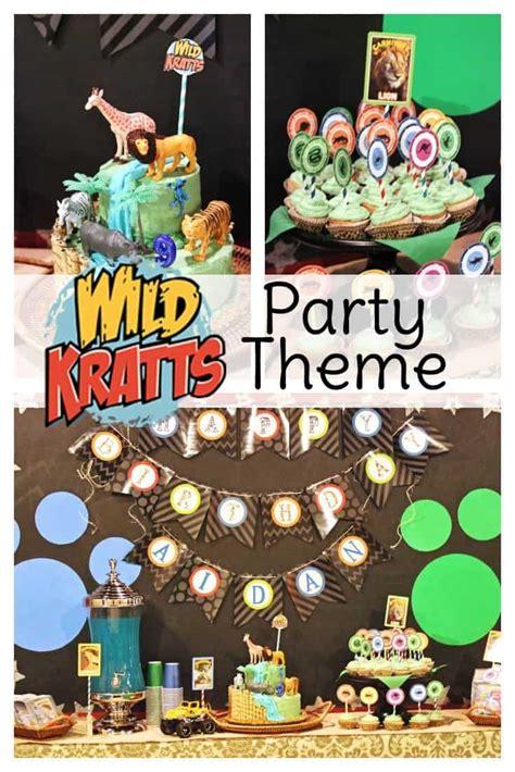 wild kratts party ideas sweet