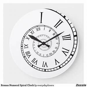 Horloge Murale Chiffre Romain : horloge chiffre romain ~ Teatrodelosmanantiales.com Idées de Décoration
