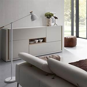 Wohnzimmermöbel Weiß Holz : sideboard aus holz hellgrau wei giove ~ Frokenaadalensverden.com Haus und Dekorationen