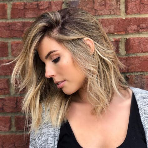 medium hairstyles  oval faces
