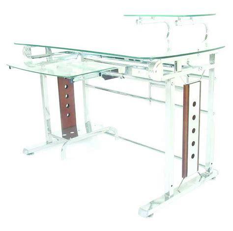 modern glass computer desk modern glass computer desks office furniture