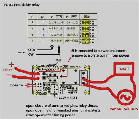 Dayton Time Delay Relay Wiring Diagram Gallery