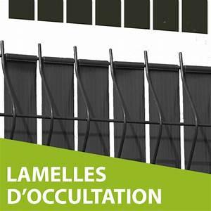 Lamelle Pvc Pour Cloture : occultation grillage rigide gris brise vue gris ~ Dode.kayakingforconservation.com Idées de Décoration