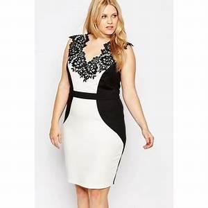 Femme Ronde Robe : robes dans grande taille femme achetez au meilleur prix avec ~ Preciouscoupons.com Idées de Décoration