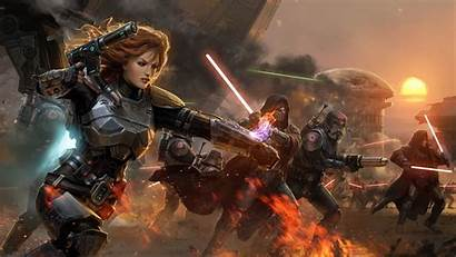 Wars Republic Star Lightsaber Desktop War Wallpapers