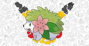 pokemon shaymin event how mythical legendary grass type via mystery t