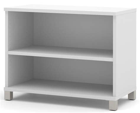 white two shelf pro linea white 2 shelf bookcase from bestar 120160 1117