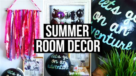 Room Decor by Diy Summer Room Decor Room Accessories Wall Decor
