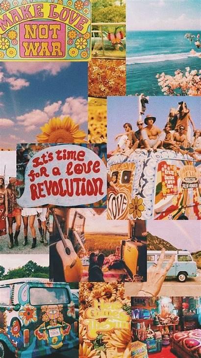 Aesthetic 70s Wallpapers Hippie Boho Laptop Vsco