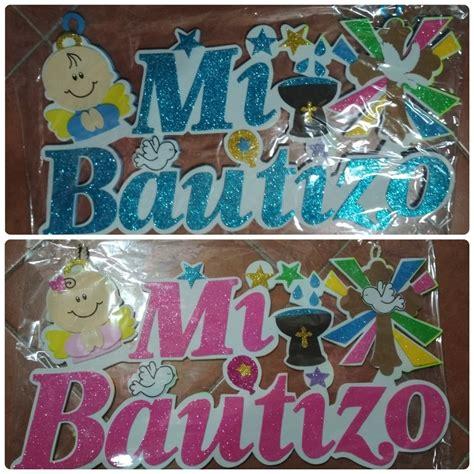Letrero De Foamy Bautizo Baby Shower Cumpleaños Y Mas